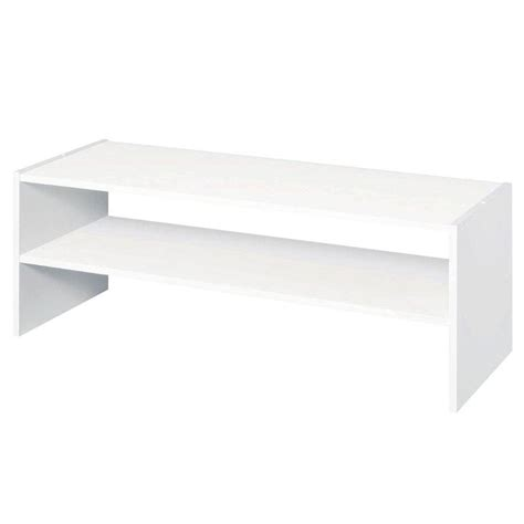 Where Can I Buy Closetmaid Products Closetmaid Selectives 31 In White Stackable Storage