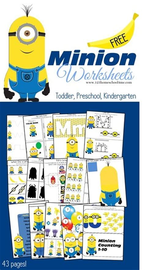 minions free printable activities and free printable minion activity sheets lesson plans