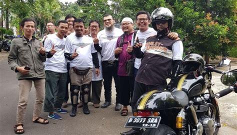 komunitas muslim biker indonesia siap jelajah arab saudi
