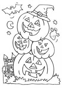 Galerry coloring pages printable halloween