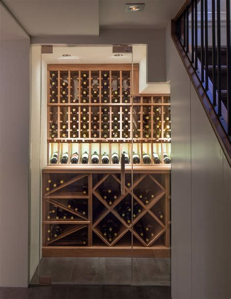 Kitchen Sink Window Ideas Small Space Wine Cellars By Papro Consulting