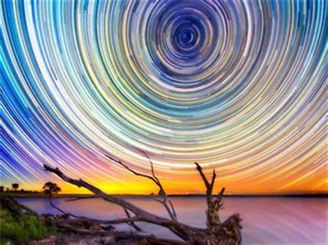 stunning photographs of star trails over outback australia