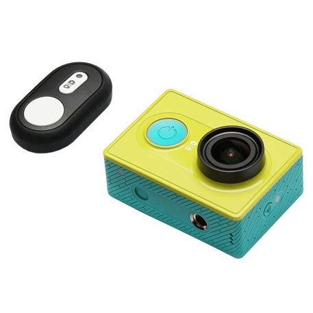 yi action camera bluetooth remote control: full