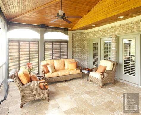 outdoor screen room with floor porch flooring options the porch companythe porch company