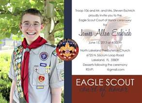 eagle scout court of honor invitation template eagle scout invitations images