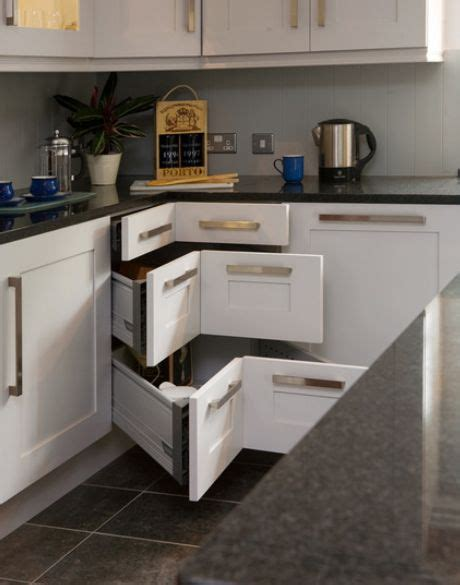 Storage Solutions For Corner Kitchen Cabinets Contemporary Kitchen Storage Systems
