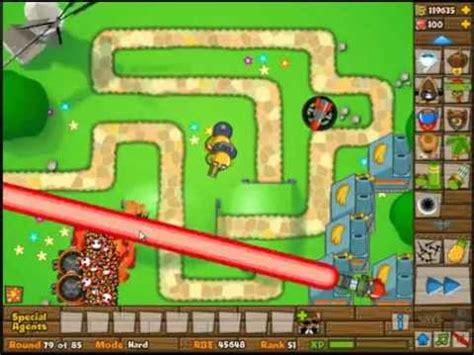 best btd5 strategy btd5 bloons tower defense 5 walkthrough mode
