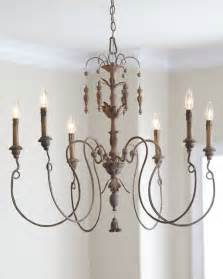 Chandelier Houzz Salento Six Light Chandelier With Wood Country Home Baroque Rococo Style Mediterranean