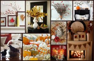 Fall Home Decorations Easy Fall Decorating Ideas