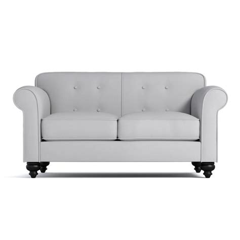 Tufted Apartment Sofa by Pico Tufted Back Apartment Size Sofa Choice Of Fabrics Apt2b