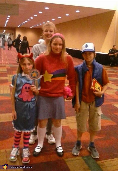 dipper pines mabel pines  star butterfly costume