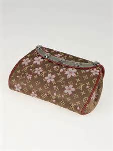 Find Louis Vuitton Cherry Blossom Griotte Bag by Louis Vuitton Limited Edition Takashi Murakami Brown Mini