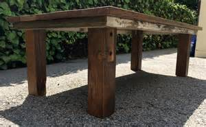 reclaimed wood coffee table 10