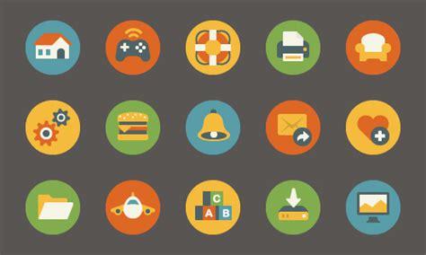 Design Minimalist by 25 High Quality Free Flat Icon Sets Web Design Beat
