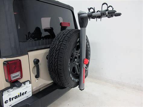 Jeep Spare Tire Bike Rack Jeep Wrangler Yakima Spareride 2 Bike Rack Spare Tire