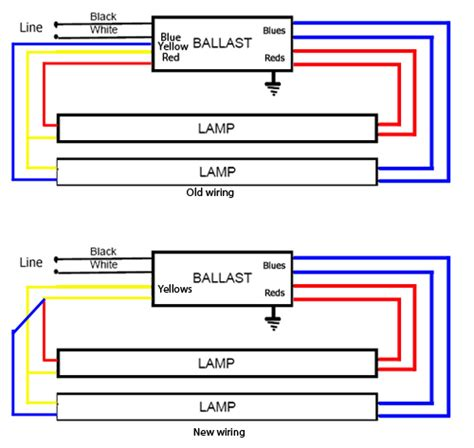 single bulb ballast wiring diagram get free image about