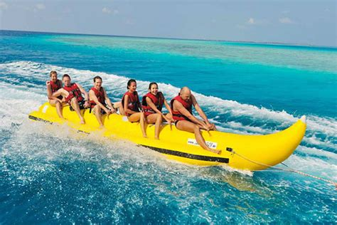banana boat ride boracay rates banana boat and towable rides clear water adventures l