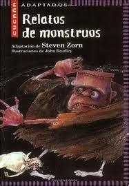 libro relatos de monstruos relatos de monstruos blog de lengua