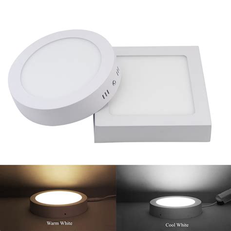 Oscled Mzpbd8r Surface Panel Light 18w 9w 15w 25w square surface led ceiling light panel light light 85 265v led indoor
