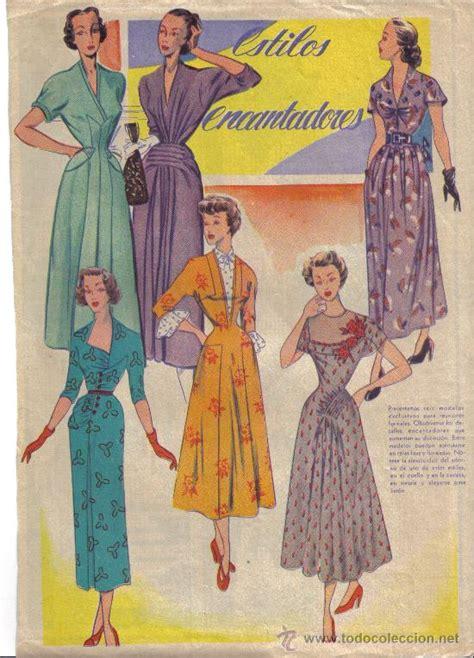 imagenes vintage femeninas hoja de revista moda femenina a 209 os 50 estilos