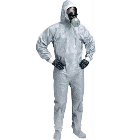 Haz Mat Suits by Dupont Tychem Cpf2 Hazmat Suit With Boot Covers