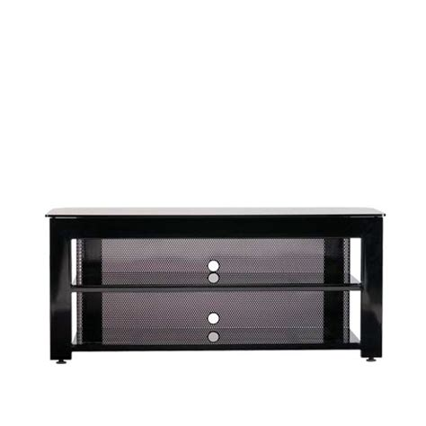 entertainment centers three shelf widescreen steel