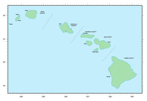 map usa hawaiian islands map of hawaii islands hawaii islands map vidiani