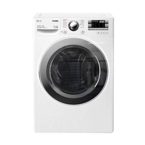 jual lg f1014ntgw mesin cuci front loading putih 14 kg