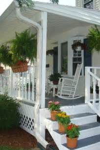 country porches white porch stairs d m sequim home pinterest