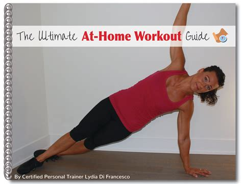 the ultimate at home workout guide fit healthy 365