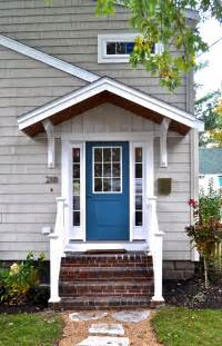 Front Door Porch Sopo Cottage Curb Appeal Before And After In The