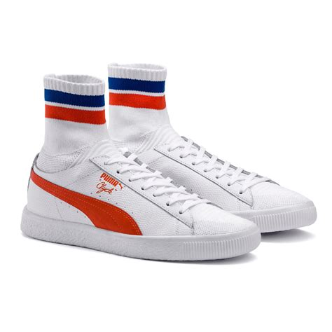 sneakers nyc clyde sock nyc s sneakers in white for lyst