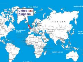 England On World Map by United Kingdom Location Map World Map