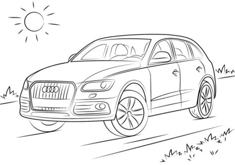 audi q5 coloring page   free printable coloring pages