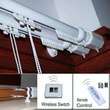 China Remote Control Curtain System China Remote Control