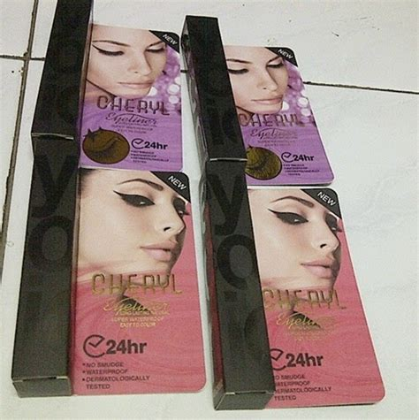 Harga Bedak Padat Merk Maybelline harga kosmetik termurah eyeliner pen spidol waterproof