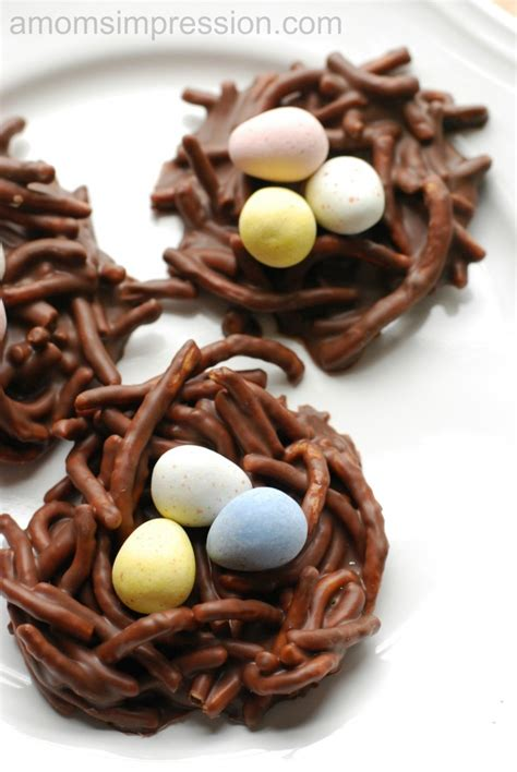 adorable and easy no bake chow mein noodle birds nest cookies