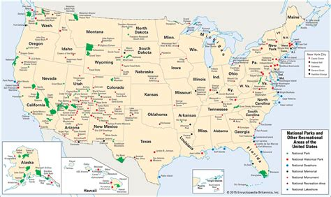 united states map with national parks national park encyclopedia children s homework