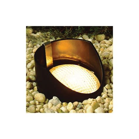 Kichler Well Light Kichler 15388bk Black In Ground Well Light With Reversible Housing For Par36 Ls