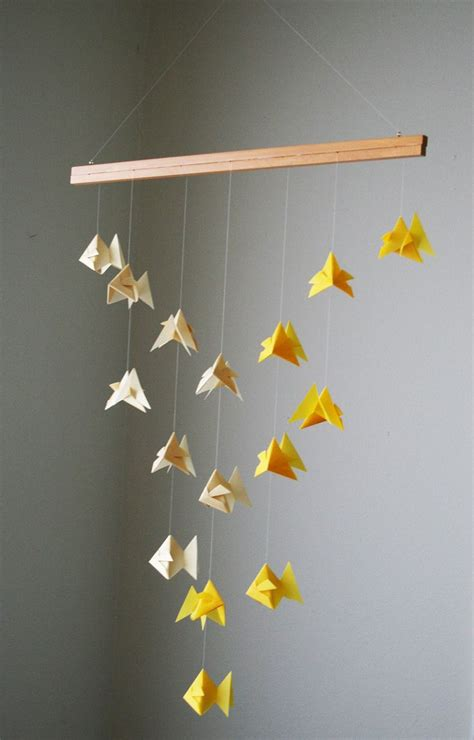 Origami Mobile - 16 best images about origami for nursery on