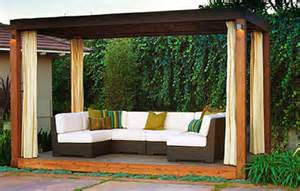 Design Ideas For Hton Bay Pergola Home Dzine Design Beautiful Outdoor Spaces For Your Home Outdoor Spaces