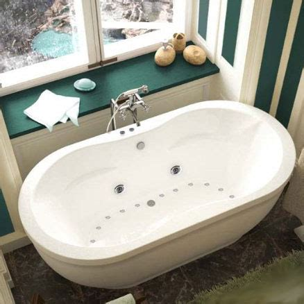 freestanding bathtubs with air jets atlantis tubs 3471ad aquatic 34 x 71 x 21 inch
