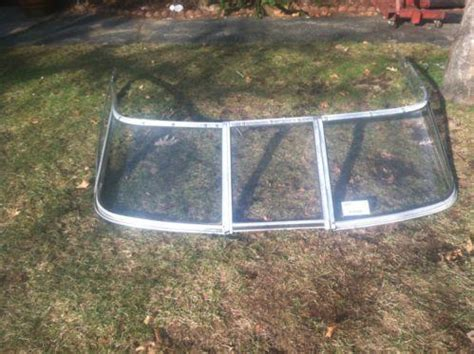 boat windshields used boat windshield ebay
