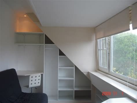 buro woonkamer woonkamer met inbouwkast buro en slaapbank