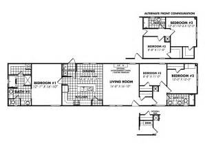 18 x 80 mobile home floor plans legacy housing single wide modular manufactured