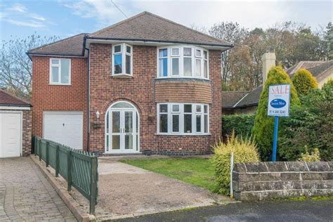 4 Bedroom Detached House For Sale In 38 Elwood Road Bradway