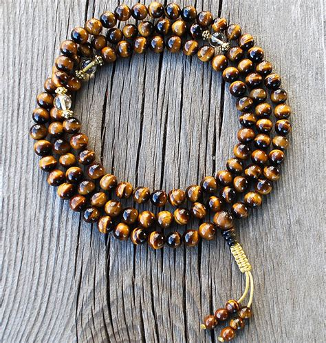 dalai lama mala tigers eye citrine mala designs