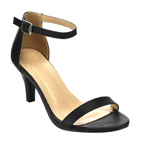 mid heel sandals with ankle beston cd42 s mid heel single band ankle dress