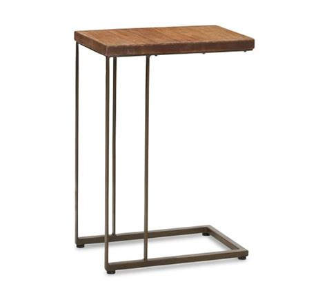 C Tables by Teak C Table Pottery Barn
