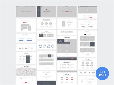 templates  creating high fidelity wireframes web graphic design bashooka